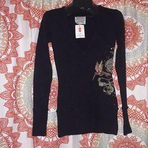 NWT Anthropologie Nick & Mo S Sweater Top